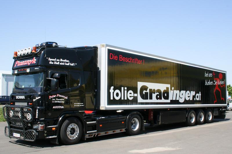 Folie-Gradinger, LKW Folierung
