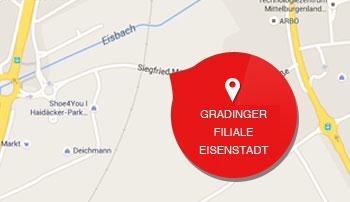 Folie Gradinger Filiale Eisenstadt