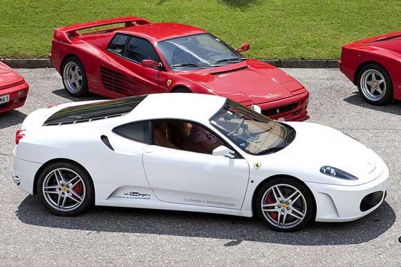 3m Ferrari Sportwagenfestival Velden