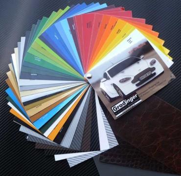 Farbächer Orafol Car Wrapping Film 970 - 975 für Vollbeklebungen