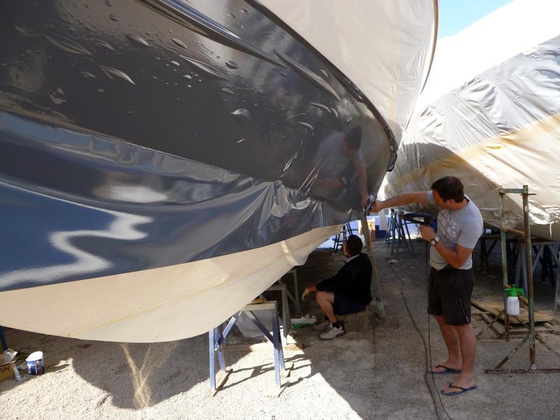 Folie Gradinger Boot Folierung