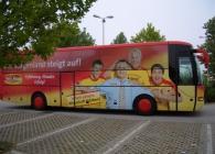 Folie Gradinger Verkehrsmittel Werbung