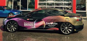 Gradinger foliert 120 Eurovision Song Contest Taxis